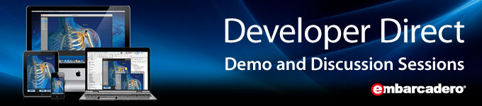 Embarcadero Developer Direct - Demo and Discussion Sessions