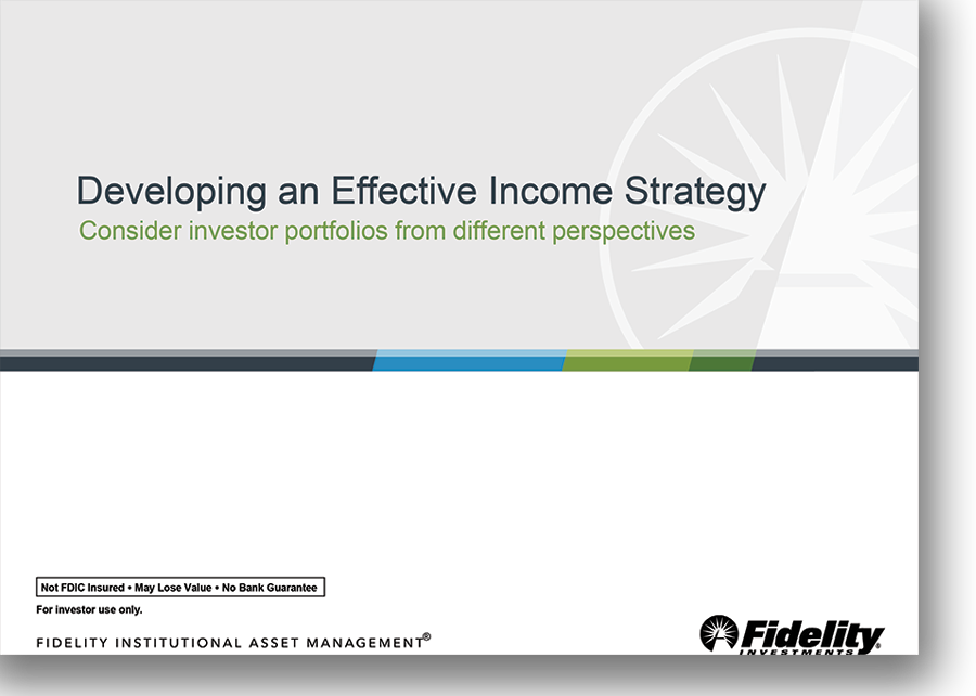 Developing an Effective Income Strategy