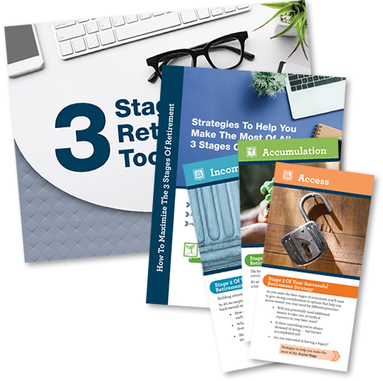 3 Stages Of Retirement toolkit