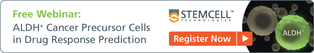 [Free Webinar] ALDH+ Cancer Precursor Cells in Drug Response Prediction - Register Now