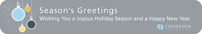 Season's Greetings - Wishing You a Joyous Holiday Season and a Happy New Year