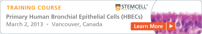 Training Course: Culture Primary Human Bronchial Epithelial Cells at the Air-Liquid Interface