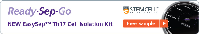 Free Sample: NEW EasySep Th17 Cell Isolation Kit