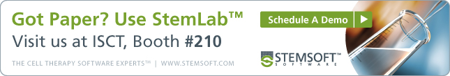 Got Paper? Use StemLab™. Visit us at ISCT, booth #210 or schedule a demo