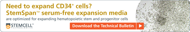 Tech Bulletin: Expansion Of Hematopoietic Stem And Progenitor Cells